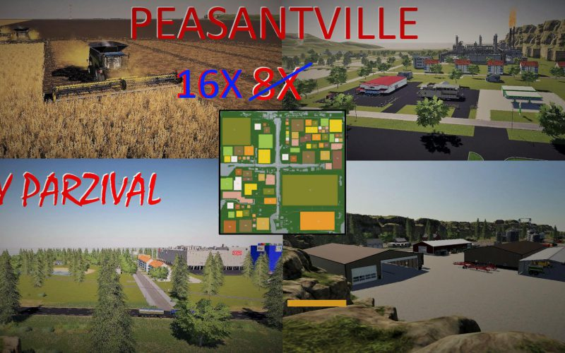 PEASANTVILLE 2 16X PRODUCTION MULTIFRUIT V2.3
